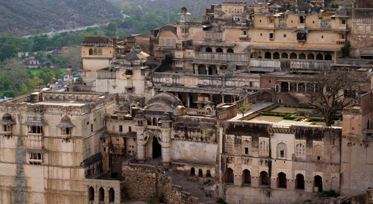 Luxury Rajasthan Holiday - Bundi's magnificent City Palace