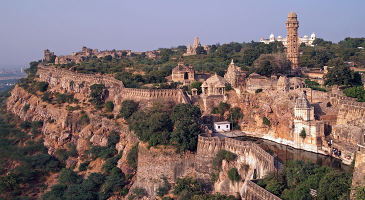 Luxury Rajasthan Holiday - Chittorgarh Fort the setting for epic history