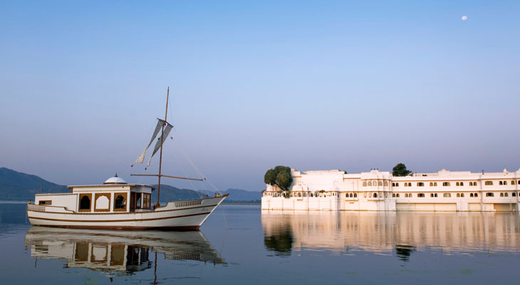 Luxury Rajasthan Holiday - the Lake Palace, perhaps the world's most iconic hotel