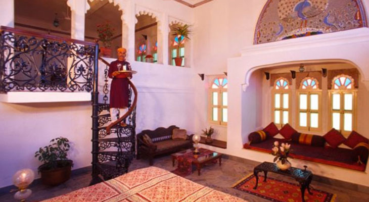 Affordable Luxury trips to India - including Deogarh Mahal at Devgarh